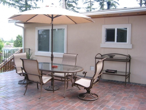 Patio | Senior Health Care Housing